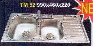 Chậu rửa bát Inox Tân Mỹ TM52