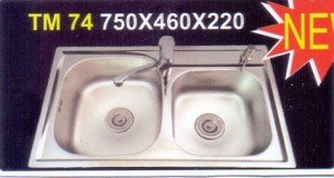 Chậu rửa bát Tân Mỹ TM74
