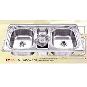 Chậu rửa bát Inox Tân Mỹ TM56
